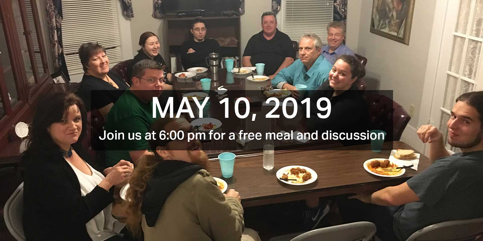 Our next meeting is 5/10/19
